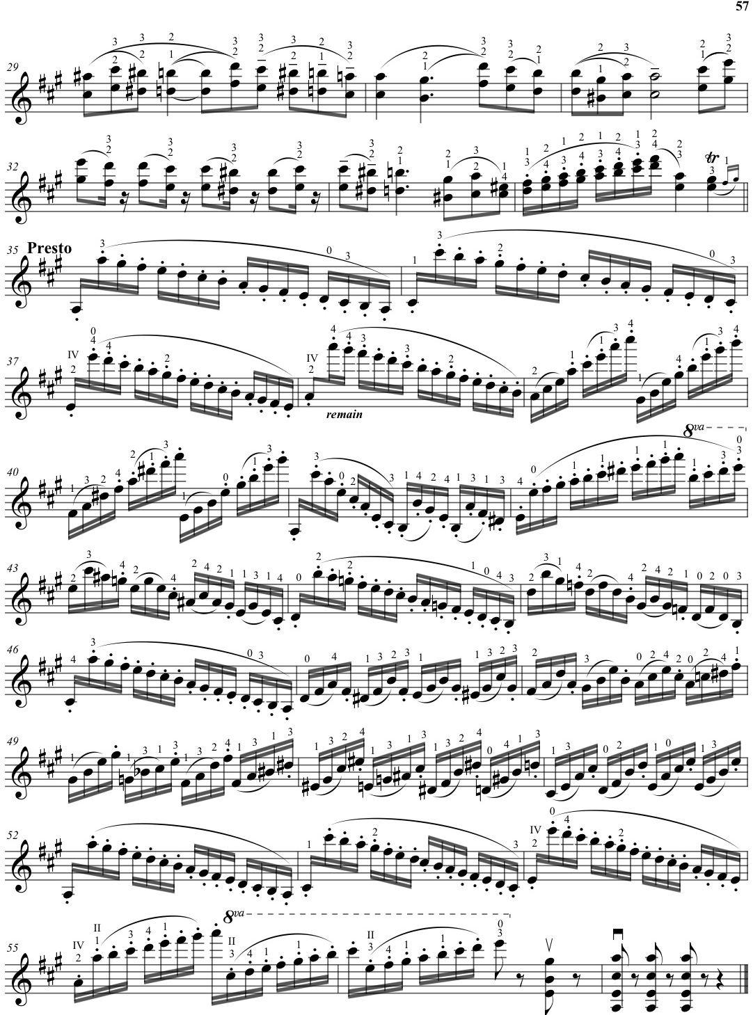Paganini Technique Violin Book