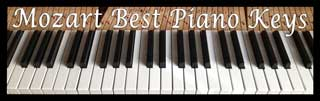 Mozart Best Piano Keys